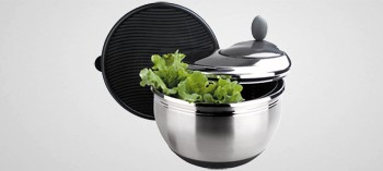 Essoreuse à salade inox 4,5 litres