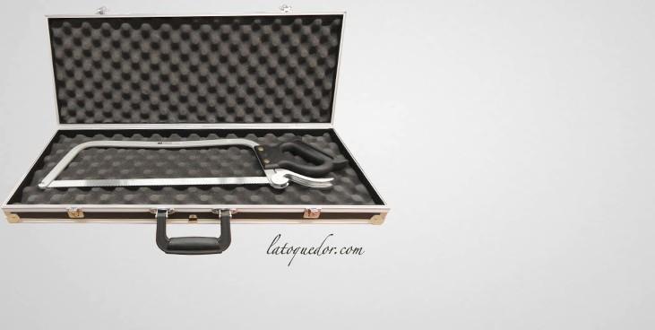 valise vide avec mousses pour scie de boucher mallette. Black Bedroom Furniture Sets. Home Design Ideas