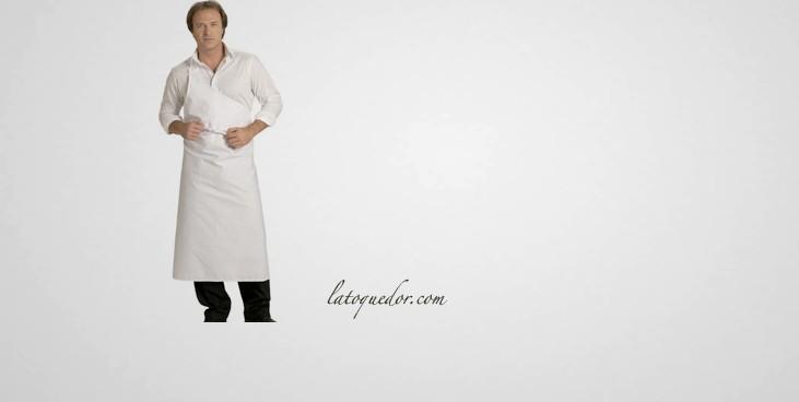 Tablier de boucher parisien coton