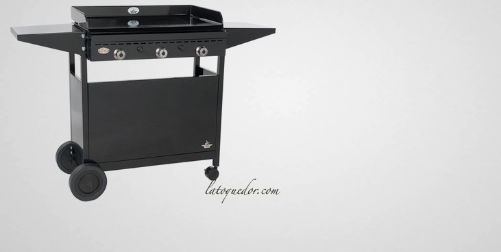 chariot acier ferm pour plancha iberica chariot pour. Black Bedroom Furniture Sets. Home Design Ideas