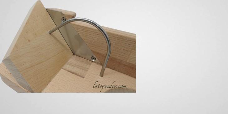 guillotine saucisson en bois mandoline de cuisine et. Black Bedroom Furniture Sets. Home Design Ideas