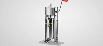 Poussoir à saucisse professionnel inox vertical 7L