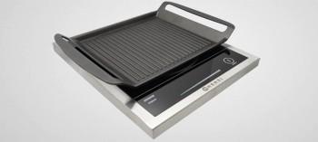Plaque induction slim 2000W avec grill