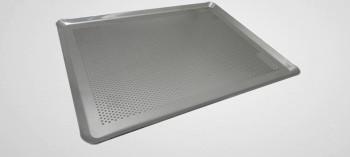 Plaque à pâtisserie perforée en aluminium