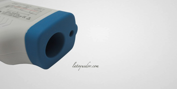 Thermom tre vis e laser professionnel 50 380 c for Thermometre cuisine laser