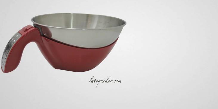 balance avec bol inox amovible balance de cuisine l ctronique balance de cuisine. Black Bedroom Furniture Sets. Home Design Ideas