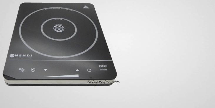 plaque de cuison induction hendi 2000w plaque induction professionnelle cuisson la toque d 39 or. Black Bedroom Furniture Sets. Home Design Ideas