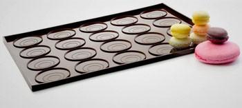 Tapis à macaron et whoopies silicone