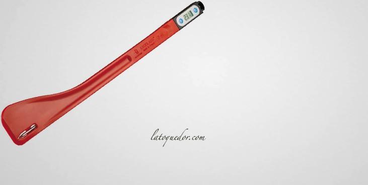 spatule thermom tre sonde longue exoglass 50 220 c thermom tre de cuisine la toque d 39 or. Black Bedroom Furniture Sets. Home Design Ideas