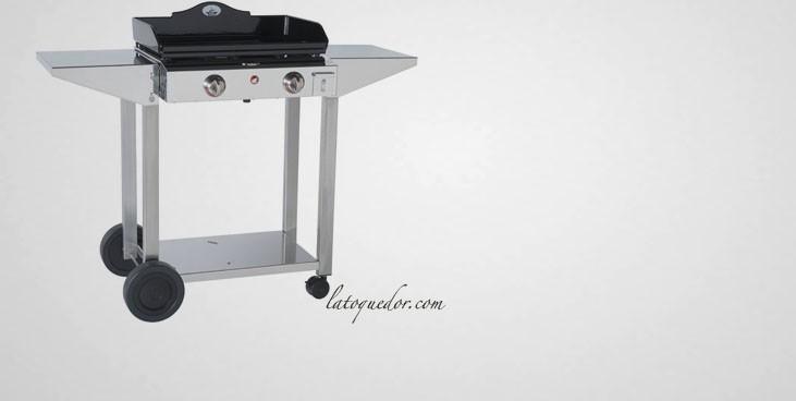chariot tout inox pour plancha prestige chariot pour. Black Bedroom Furniture Sets. Home Design Ideas