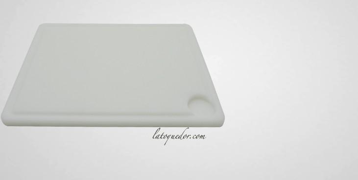 planche d couper polypropyl ne avec rigole planche. Black Bedroom Furniture Sets. Home Design Ideas
