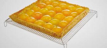 Volette à pâtisserie carrée inox