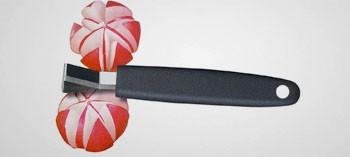 Couteau à décorer triangle