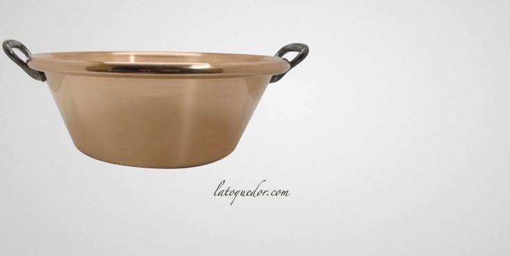 bassine confiture professionnelle en cuivre bassine et cul de poule batterie de cuisine. Black Bedroom Furniture Sets. Home Design Ideas