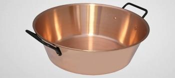 Bassine à confiture cuivre 1er prix