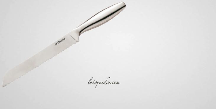 couteau pain inox praxos couteaux de cuisine inox praxos la toque d 39 or. Black Bedroom Furniture Sets. Home Design Ideas