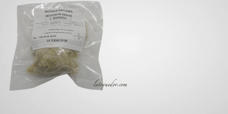 Boyaux de mouton sec qualité AB