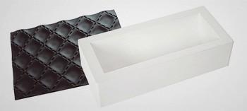 Moule à bûche silicone tapis matelassé