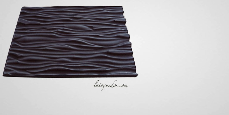 Tapis silicone faux bois pour moule à bûche  Gouttière et moule à