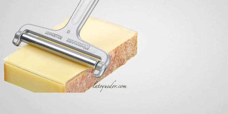 Coupe fromage lamelle couteaux fromage et roquefortaise la toque d 39 or - Coupe fromage a raclette ...