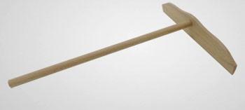 Rateau à crêpes en bois
