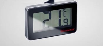 thermom tre frigo avec alarmes 50 70 c thermom tre de cuisine la toque d 39 or. Black Bedroom Furniture Sets. Home Design Ideas