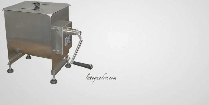 m langeur viande manuel inox 20l batteur m langeur et p trin la toque d 39 or. Black Bedroom Furniture Sets. Home Design Ideas