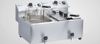 Friteuse professionnelle Mastercook 2x8L