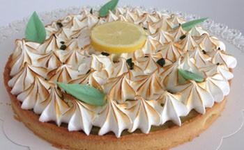 Tarte citron basilic