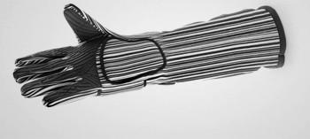 Gant de four anti chaleur pro avec manchette (x2)